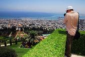The Bahai Shrines in Haifa - Israel — Stock Photo