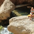Ein Gedi Spring - Israel — Stock Photo