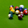 Pool Game - Pocket Billiards — Stock Photo