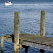 Boat pier — Stock Photo