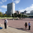 Auckland cityscape - Aotea Square — Stock Photo