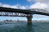 Ponte del porto di auckland — Foto Stock
