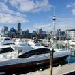 Stock Photo: Auckland Viaduct Harbor Basin