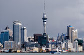 Auckland Skyline — Stock Photo