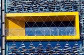 Metall fönster konsistens — Stockfoto