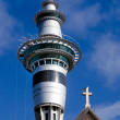 Stock Photo: Auckland Sky Tower