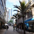 Auckland Cityscape - Vulcan Lane — Stock Photo