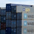 Intermodal containers — Stock Photo