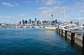 Westhaven Marina - Auckland — Stock Photo