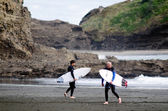 Surfing - Recreation and Sport — Stock Photo