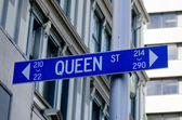 Auckland Cityscape - Queen Street — Stock Photo