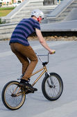 BMX Cycling - Recreation and Sport — Stock Photo