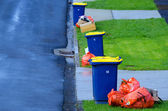 Rubbish and recycling — Stock Photo
