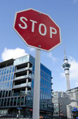 Auckland - Real Estate Market — Stock Photo