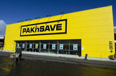 PAK'nSAVE Supermarket — Stock Photo