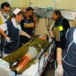 Stock Photo: Israeli Medical teams practicing mass casualty scenario