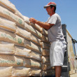 Stock Photo: Israel Allows Goods Including Cement into Gaza
