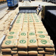 Israel Allows Goods Including Cement into Gaza — Stock Photo