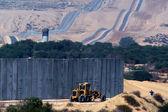 Israel-Gaza Strip barrier — Stock Photo