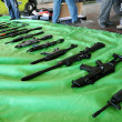 Arms trafficking — Stock Photo