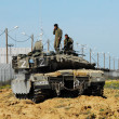 Israeli IDF Tank - Merkava — Stock Photo