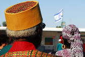 African Hebrew Israelites of Jerusalem — Stock Photo