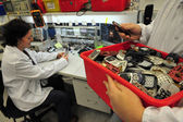 Mobile phone recycling — Stock fotografie
