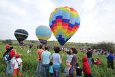 Hot luft ballonger — Stockfoto