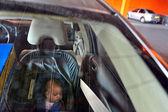 Child neglect - Heat Stroke — Stock Photo
