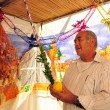Judaism  - Sukkot Jewish Holiday in Israel — Stock Photo