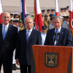 ������, ������: U S President George W Bush visit to Israel