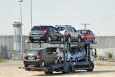 Car Transport — Zdjęcie stockowe