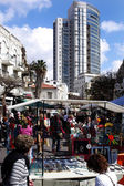 Nachalat Binyamin Market in Tel Aviv — Stock Photo