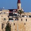 Stock Photo: Wall of Acre in Akko Israel