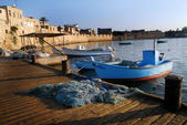 Acre Akko Port Israel — Stock Photo