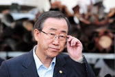 Ban Ki-Moon - Secretary General of UN — Stock Photo