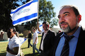 Avigdor Lieberman — Stock Photo