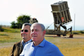 Iron Dome batterie — Stock Photo