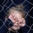 Human Trafficking of Children - Concept Photo — Stock Photo #28402193