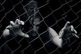 Human trafficking - Concept Photo — Stock Photo