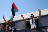 Israël libère des prisonniers palestiniens 255 — Photo