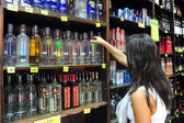 Alcool - vente de liquor act — Photo