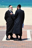 Ultra-Orthodox Jews — Stock Photo