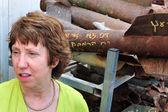 Catherine Ashton — Stock Photo