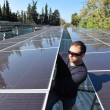 Stock Photo: Solar Energy - Green Electricity