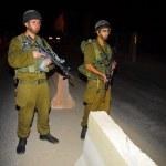 Israeli checkpoint — Stock Photo #28674221