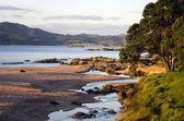 Torrente che scorre al mare — Foto Stock