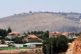 The Blue Line border between Israel and Lebanon — Stock Photo
