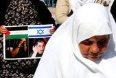 Palestinian prisoners — Stock Photo