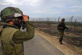 以色列封锁加沙地带抗议收益率令人失望的投票率 — 图库照片
